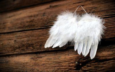 Ein Engel vor der Tür