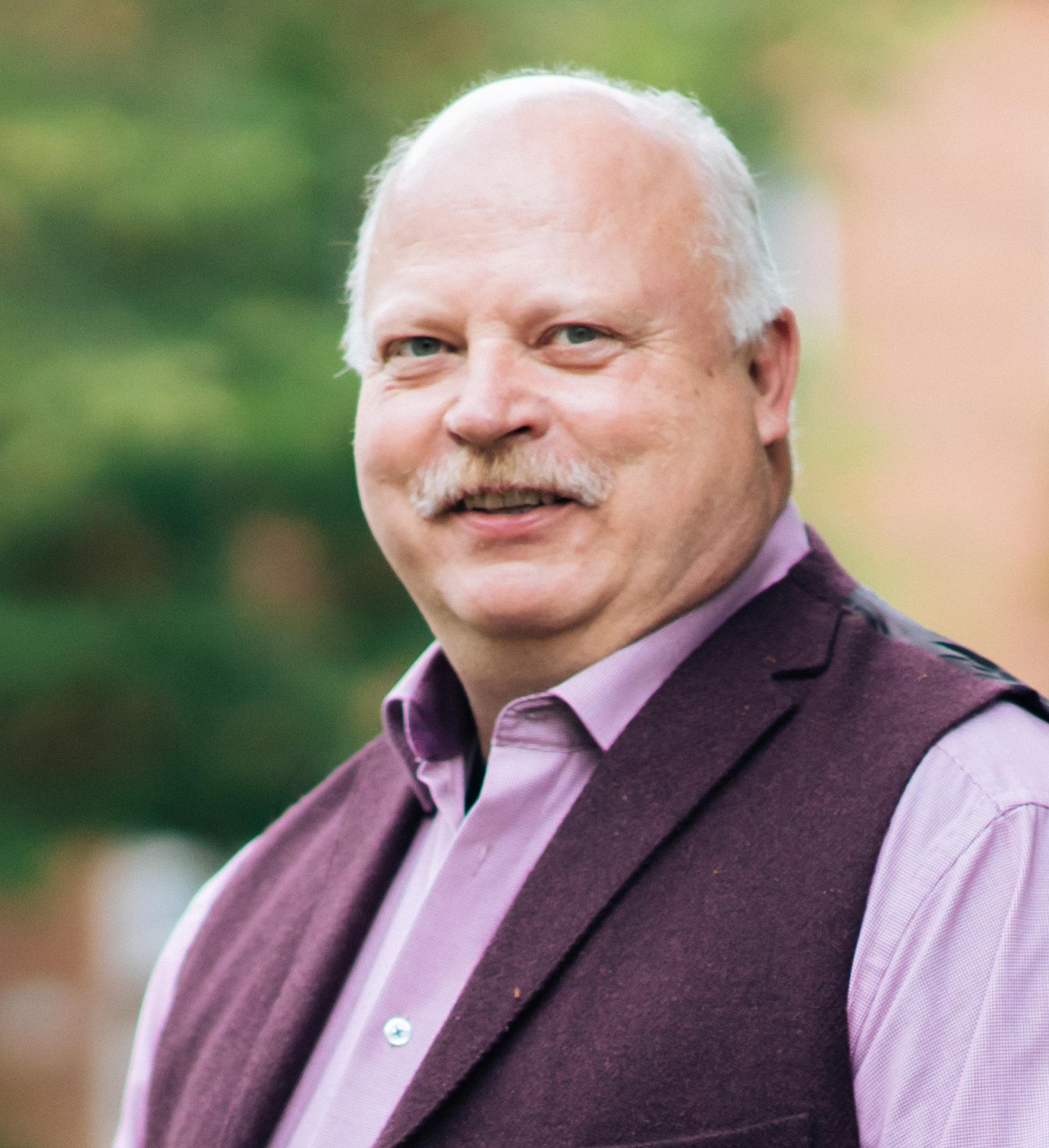 Pastor Hartmut Wensch
